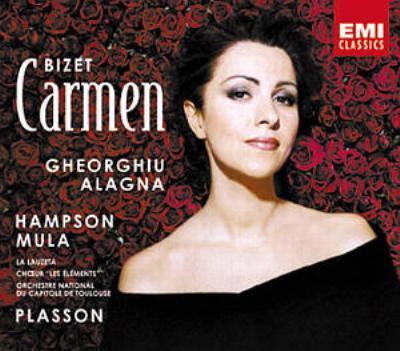 『カルメン』全曲 プラッソン&トゥールーズ・カピトール劇場、ゲオルギュー、アラーニャ(2002 ステレオ)(3CD)