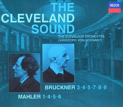 マーラー:交響曲第1,4,5,6番、ブルックナー:交響曲第3,4,5,7,8,9番 クリストフ・フォン・ドホナーニ&クリーヴランド管弦楽団(10CD)