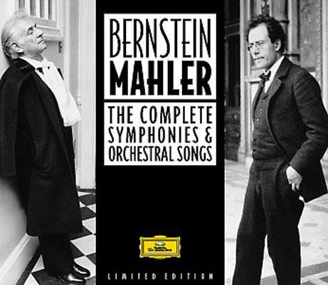 マーラー:交響曲全集&歌曲集 バーンスタイン&VPO、コンセルトヘボウ、NYP、他(16CD)