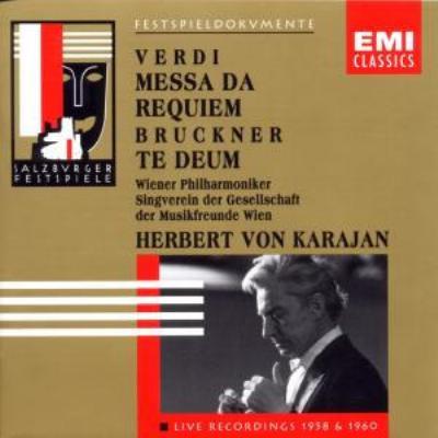 Requiem: Karajan / Vpo, Rysanek, C.ludwig, Siepi, Zampieri +bruckner: Te Deum