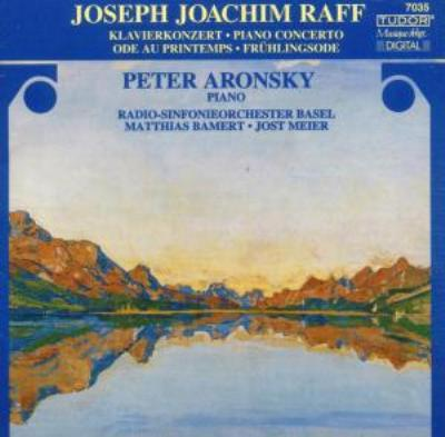 Piano Concerto, Ode Au Printemps: Aronsky(P), Bamert, J.mair / Basel.rso