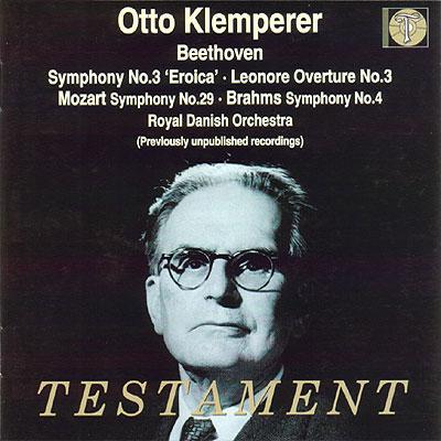 Sym.29 / 3 / 4: Klemperer / Danish Royal Opera
