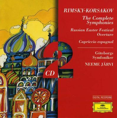 交響曲全集 ネーメ・ヤルヴィ&エーテボリ交響楽団(2CD)