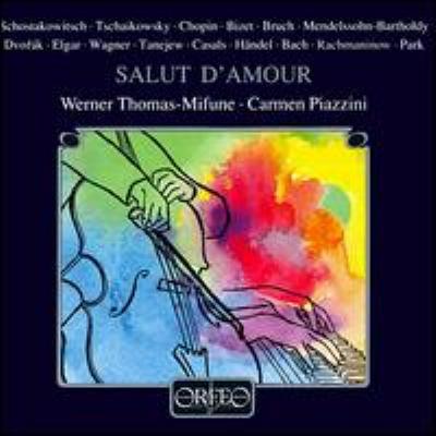 Thomas-mifune: Salut D'amour-pieces For Cello
