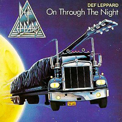 On Through The Night : Def Lep...