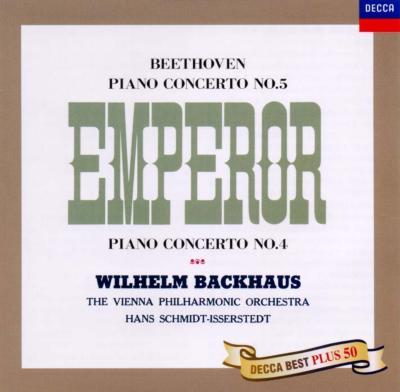 ベートーヴェン:ピアノ協奏曲第4&5番 ヴィルヘルム・バックハウス