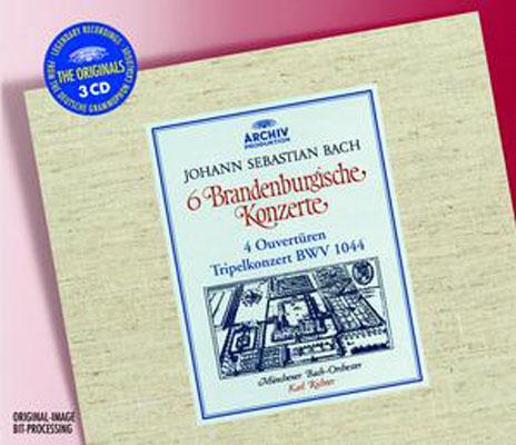 ブランデンブルク協奏曲&管弦楽組曲全曲 リヒター/ミュンヘン・バッハ管弦楽団
