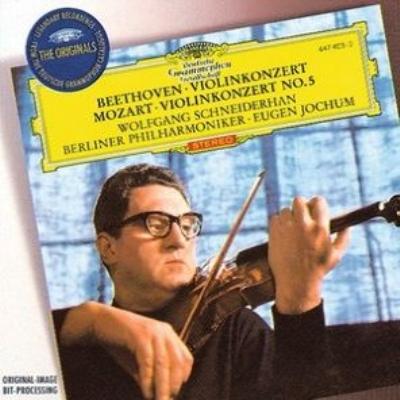ベートーヴェン:ヴァイオリン協奏曲、モーツァルト:ヴァイオリン ...
