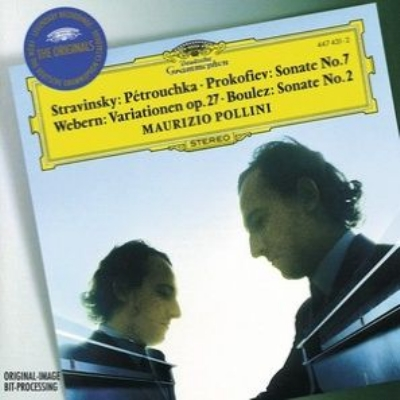 Pollini Stravinsky, Prokofiev, Webern, Boulez