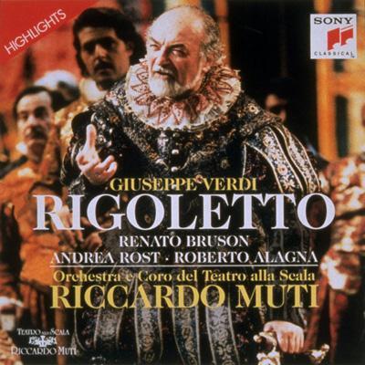 Rigoletto(Hlts): Muti / Scala