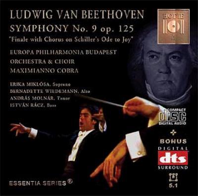 Sym.9: M.cobra / Europa Philharmonia Budapest (+dts 2cd)