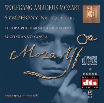 Sym.25: M.cobra / Europa Philharmonia Budapest (+dts Cd)