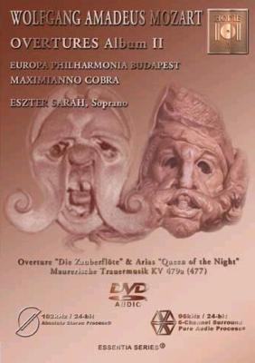 Die Zauberflote Overture & Arias: M.cobra / Europa Philharmonia Budapest