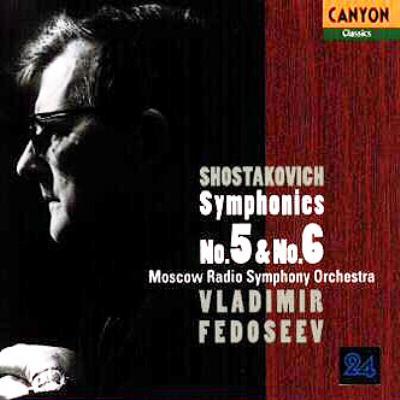 Sym, 5, 6, : Fedoseyev / Moscow Rso (1997)
