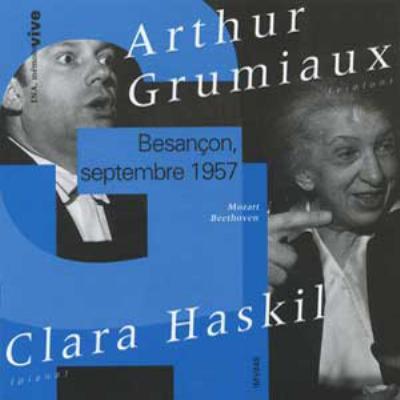 Violin Sonata.28, 40 / 3, 10: Grumiaux(Vn)haskil(P)(Besancon '57)