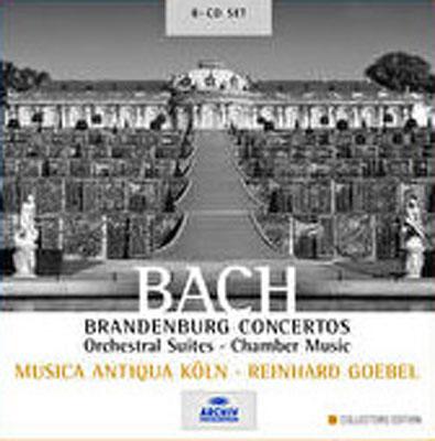 ブランデンブルク協奏曲全曲、管弦楽組曲全曲、ほか ゲーベル / MAK(8CD)