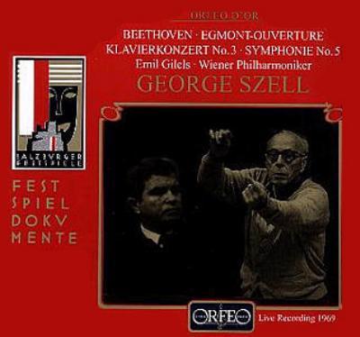 交響曲第5番『運命』、ピアノ協奏曲第3番、他 エミール・ギレリス、ジョージ・セル&ウィーン・フィル(1969年ステレオ・ライヴ)