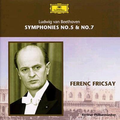ベートーヴェン:交響曲第5&7番 フリッチャイ/ベルリン・フィル