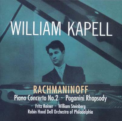 Piano Concerto.2: Kapell, Reiner, Steinberg / Philadelphia Robin Hood Del.o