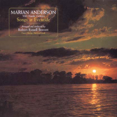 M.anderson(A)Songs At Eventide