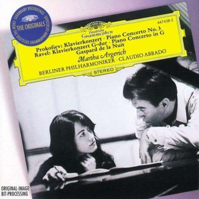 プロコフィエフ:ピアノ協奏曲第3番、ラヴェル:ピアノ協奏曲 アルゲリッチ(p)アバド&ベルリン・フィル