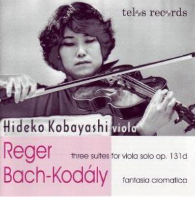 Viola Suite, 1, 2, 3, : 小林秀子 +j.s.bach / Kodaly: Chromatic Fantasy