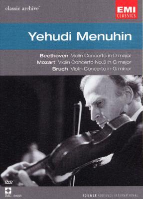 メニューイン / ベートーヴェン:ヴァイオリン協奏曲、他 メニューイン