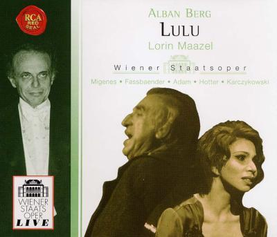 歌劇『ルル』(チェルハ補完3幕版) マゼール&ウィーン国立歌劇場(3CD)