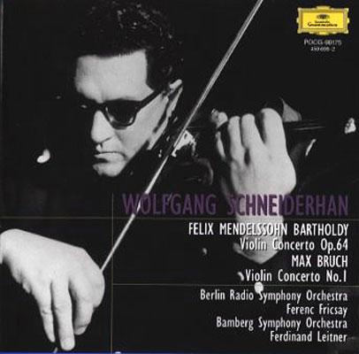 メンデルスゾーン:ヴァイオリン協奏曲、ブルッフ:ヴァイオリン協奏曲 ...