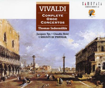 ヴィヴァルディ:オーボエ協奏曲全集/トーマス・インデアミューレ