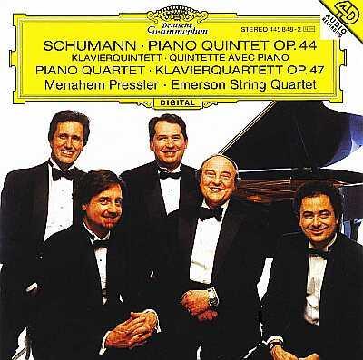 Piano Quintet, Piano Quartet: Pressler(P)Emerson Sq