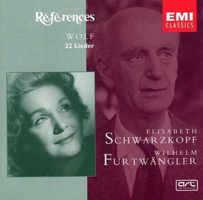 Lieder: Schwarzkopf(S)Furtwangler(P)(1953 Salzburg)
