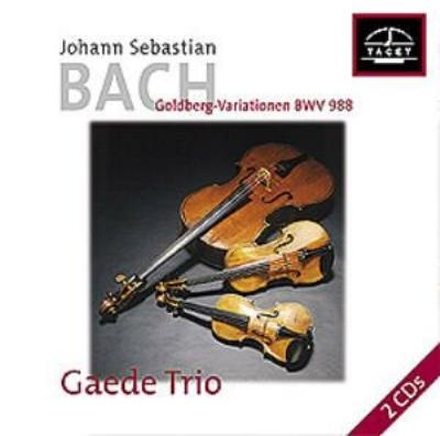 (String Trio)goldberg Variations: Gaede Trio