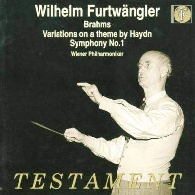 交響曲第1番、ハイドン変奏曲 ヴィルヘルム・フルトヴェングラー&ウィーン・フィル(1947、1952)