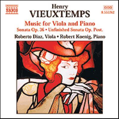 Works For Viola & Piano: R.diaz(Vn)R.koenig(P)