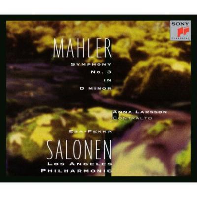 交響曲第3番 サロネン&ロサンジェルス・フィル、ラーション(2CD)