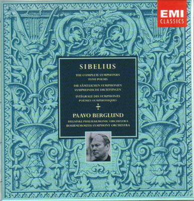 交響曲全集(第1〜7番、クレルヴォ交響曲)、管弦楽作品集 ベルグルンド&ヘルシンキ・フィル、ほか