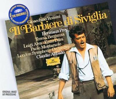 『セビリャの理髪師』全曲 アバド&ロンドン響、プライ、ベルガンサ、他(1971 ステレオ)(2CD)