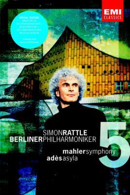 交響曲第5番、アデス:アサイラ ラトル指揮ベルリン・フィル(DVDビデオ&DVDオーディオ)