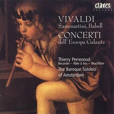 Concertos For Recorder & Strings : Pierrenoud, The Baroque Soloists of Amsterdam