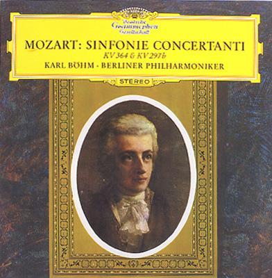 Sinfonia Concertante K.297b, K.364: Bohm / Bpo