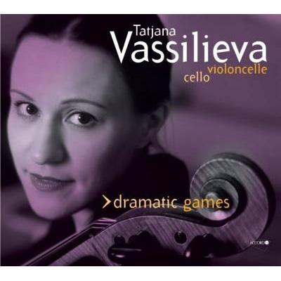 Vassilieva(Vc)Dramatic Games-contemporary Solo Cello Works