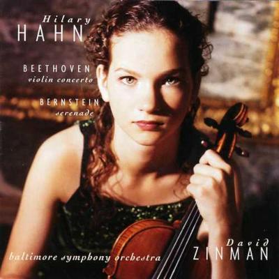 ヴァイオリン協奏曲 ヒラリー・ハーン(vn)、ジンマン&ボルティモア響