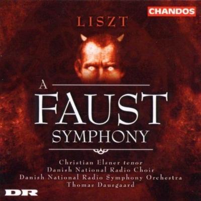 ファウスト交響曲 トーマス・ダウスゴー&デンマーク国立放送交響楽団 ...