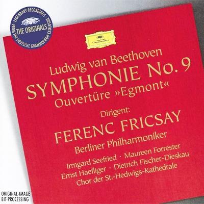 交響曲第9番『合唱』、『エグモント』序曲 フェレンツ・フリッチャイ&ベルリン・フィル