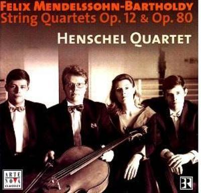 String Quartet, 1, 6, Etc: Henschel Q