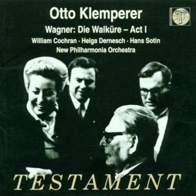 『ワルキューレ』第1幕全曲 オットー・クレンペラー&ニュー・フィルハーモニア管弦楽団、デルネシュ、ゾーティン、コックラン(1969 ステレオ)
