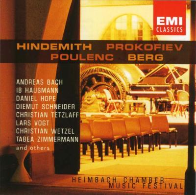 Spannungen 2001(Heimbach Musicfestival): Vogt(P)etc Hindemith, Poulenc,