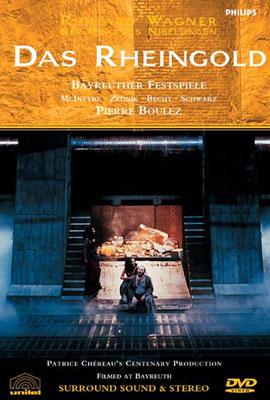 Das Rheingold: Chereau Boulez / Bayreuther Festspielhaus Mcintyre