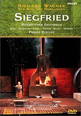 Siegfried: Chereau Boulez / Bayreuther Festspielhaus M.jung Zednik